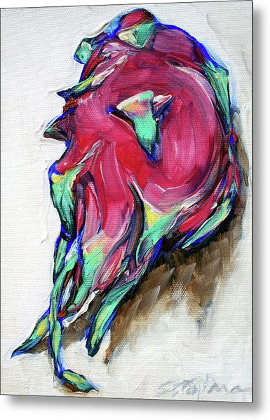 Dragonfruit Metal Print by Sheila Tajima