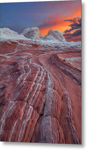 Dragons Tail Sunrise Metal Print
