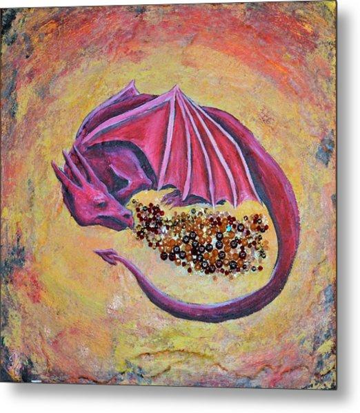 Dragon's Treasure Metal Print