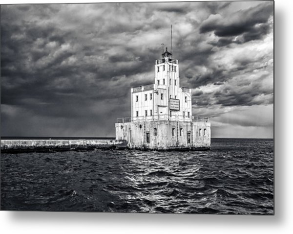 Drama In The Clouds Metal Print