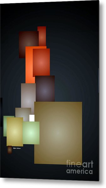 Dramatic Abstract Metal Print