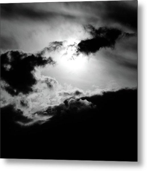 Dramatic Clouds Metal Print