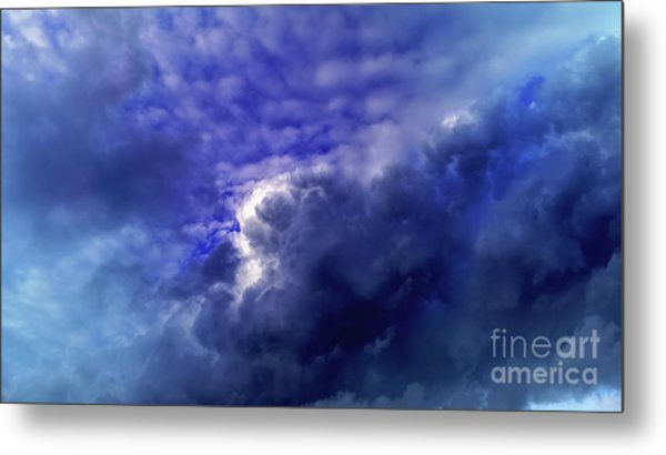 Metal Print featuring the photograph Dramatic Cumulus Sky by Pablo Avanzini