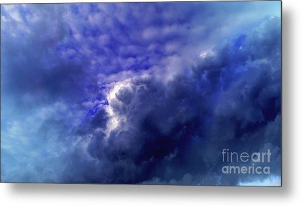 Dramatic Cumulus Sky Metal Print
