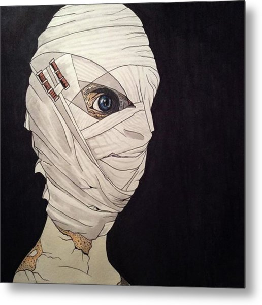 Mummy Monday Metal Print by Russell Boyle