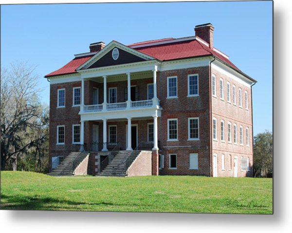 Drayton Hall Metal Print