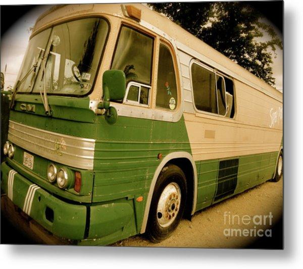 Dream Bus Metal Print by Chuck Taylor