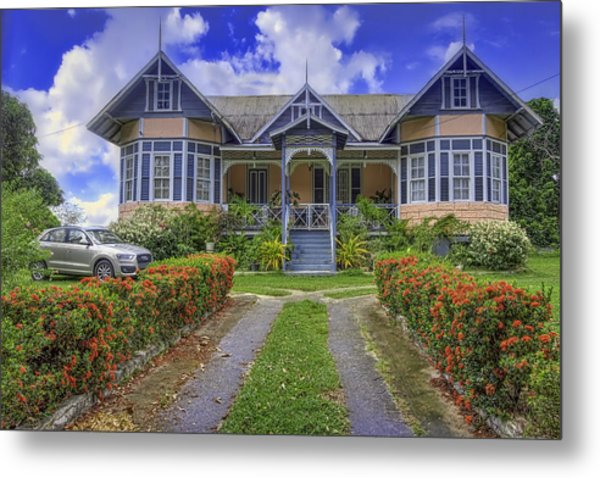 Dream House Metal Print