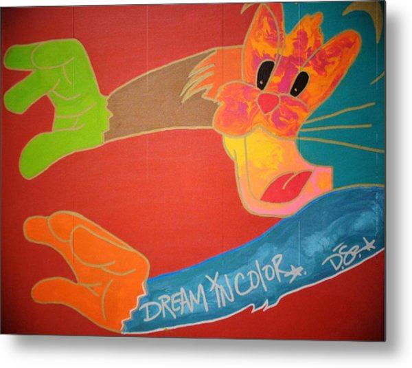 Dream In Color Metal Print
