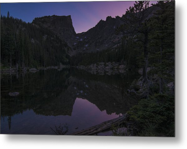 Dream Lake Reflections Metal Print