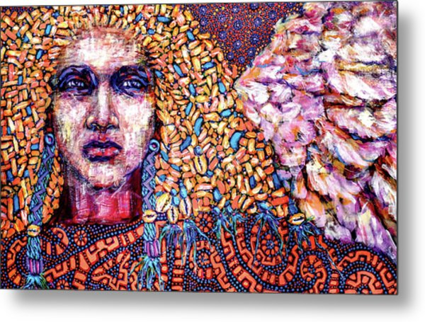 Dream Messenger-angel Metal Print