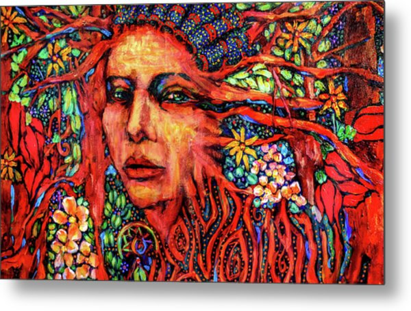 Dream Messenger-earth Metal Print