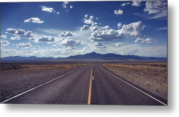 Dreaming About The Extraterrestrial Highway Metal Print