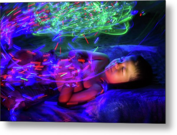 Dreaming In Color Metal Print