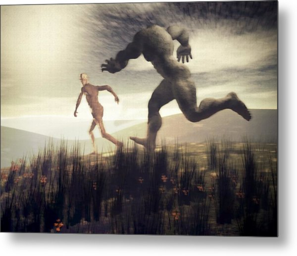 Dreaming Of A Nameless Fear Metal Print