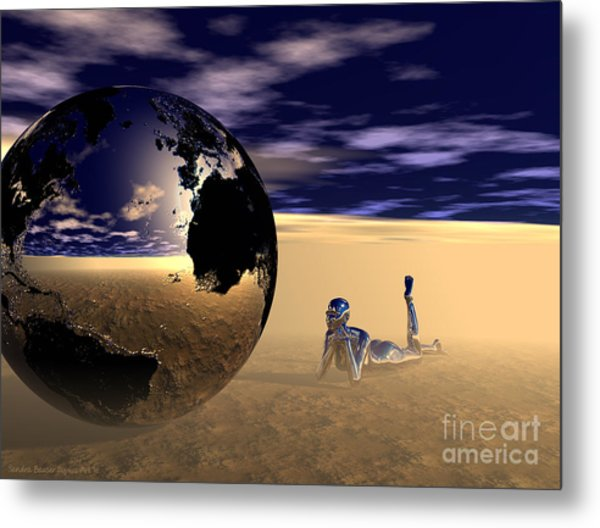 Dreaming Of Other Worlds Metal Print