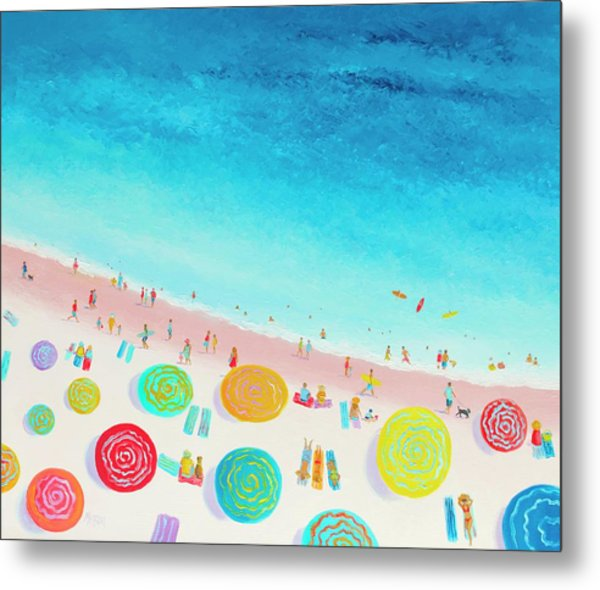 Dreaming Of Sun, Sand And Sea Metal Print