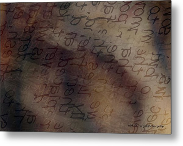 Dreaming Of Words Metal Print