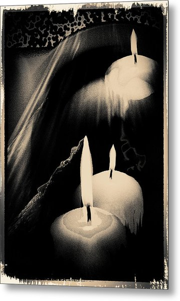 Dreams And Candlelight Metal Print