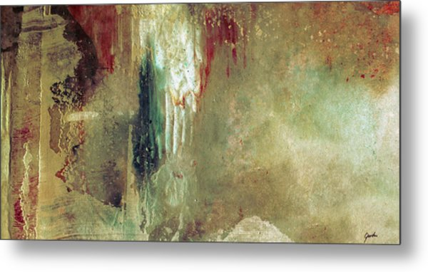Dreams Come True - Earth Tone Art - Contemporary Pastel Color Abstract Painting Metal Print