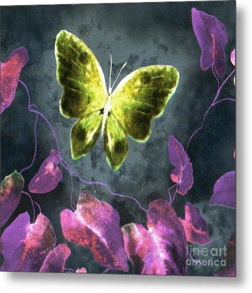 Dreams Of Butterflies Metal Print