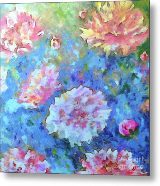 Metal Print featuring the painting Dreams Of Love by Claire Bull