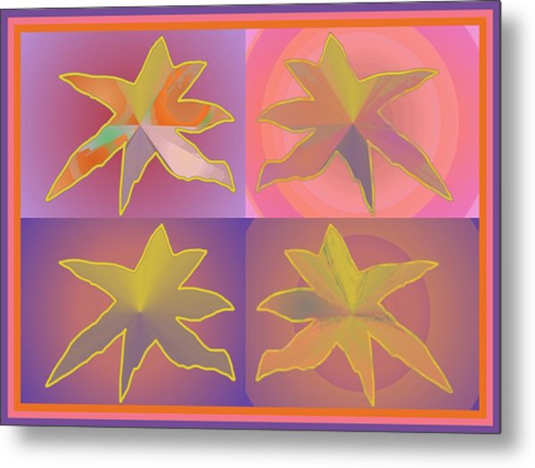 Dreamtime Starbirds Metal Print
