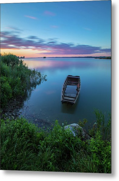 Dreamy Colors Of The East Metal Print