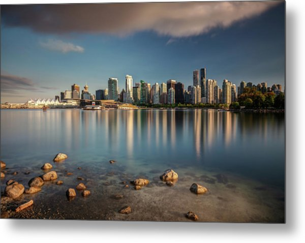 Metal Print featuring the photograph Dreamy Vancouver Cityscape by Pierre Leclerc Photography