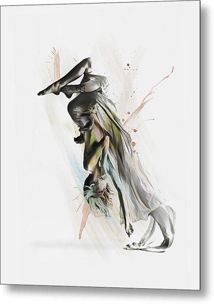 Drift Contemporary Dance Two Metal Print