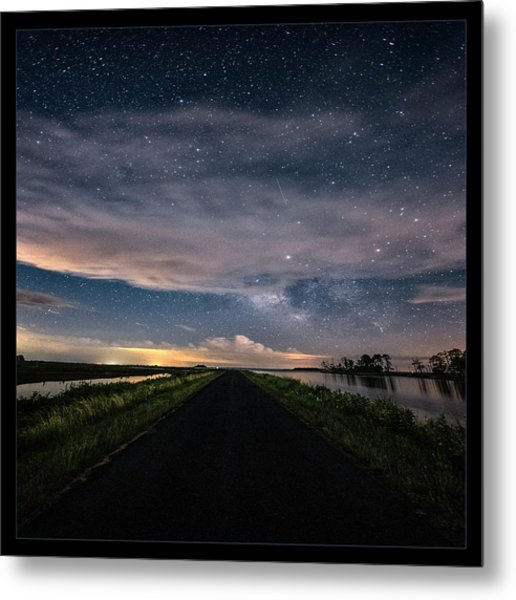 Drive Into The Wild Metal Print