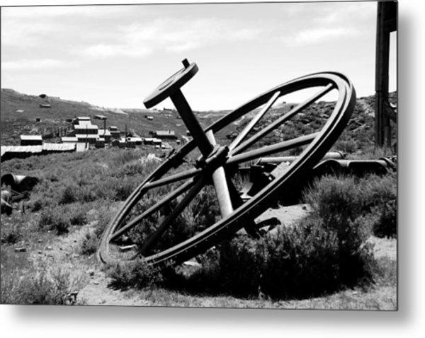 Drivewheel Metal Print