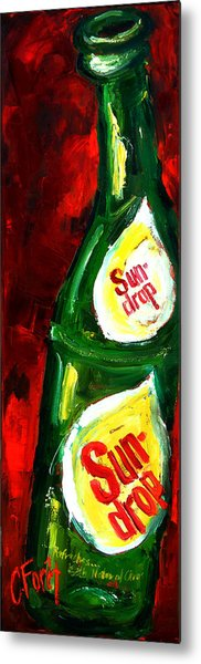 Drop Of Sun Metal Print