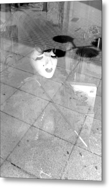 Dropped By You And Everyone Metal Print by Jez C Self