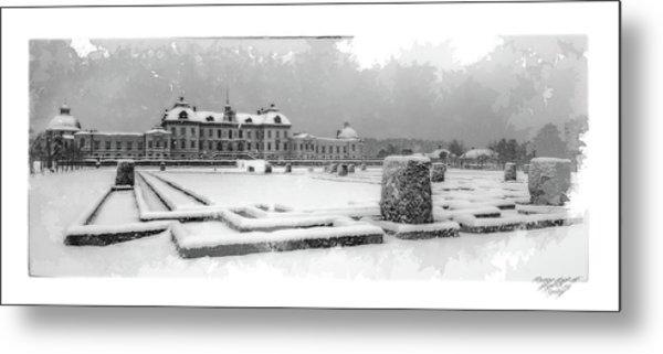 Drottningholm Castle Winter IIi Metal Print by Mikael Jenei