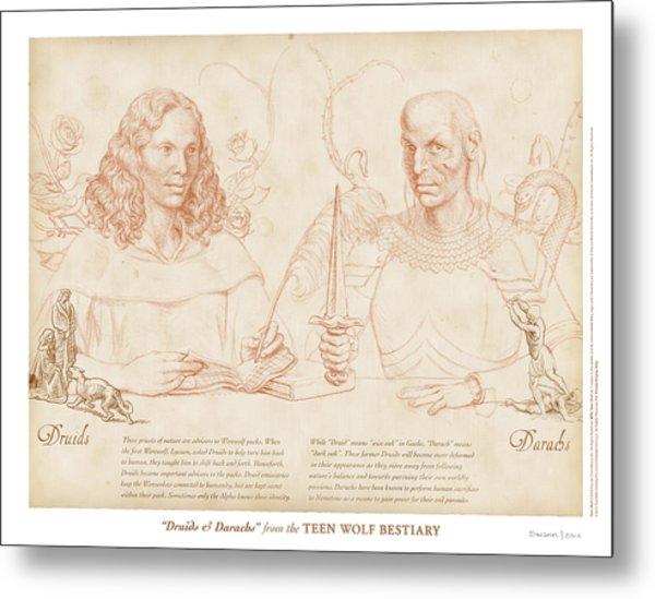 Druids And Darachs Metal Print