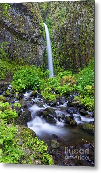 Dry Creek Falls Metal Print