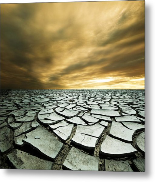 Dry Lowlands Metal Print by Zarija Pavikevik