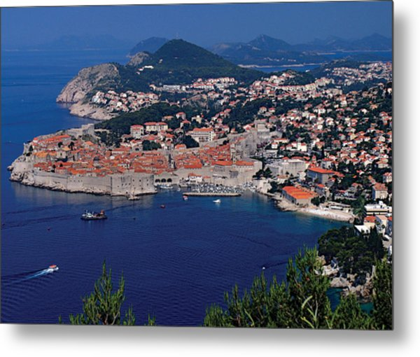 Dubrovnik Croatia Metal Print by Don Wolf