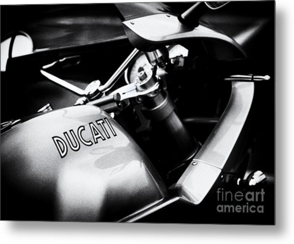 Ducati Ps1000le Monochrome Metal Print by Tim Gainey