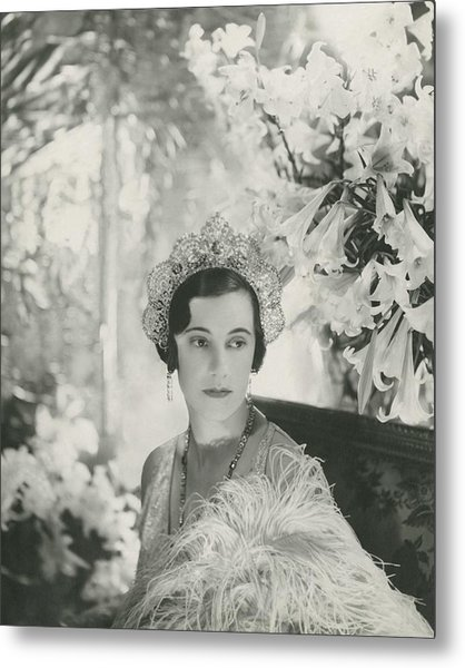 Duchess Of Westminster Metal Print by Cecil Beaton
