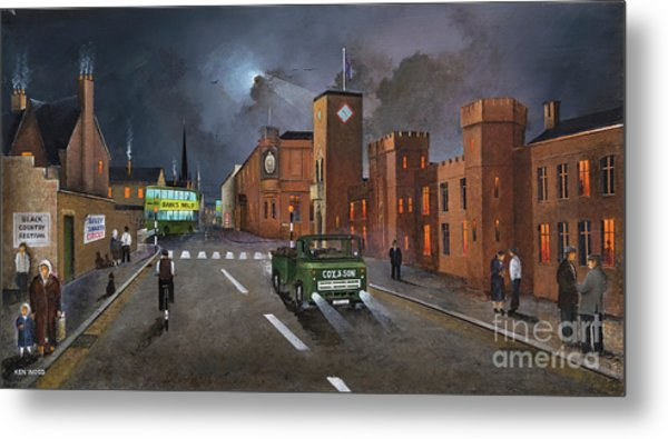 Dudley, Capital Of The Black Country Metal Print