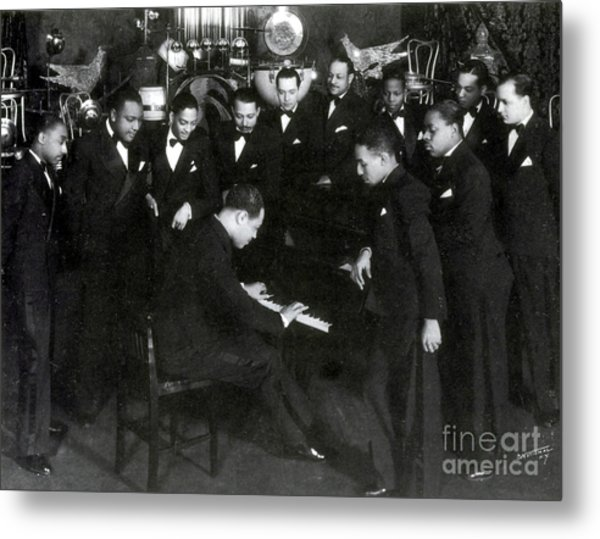 Duke Ellington And Cotton Club Metal Print