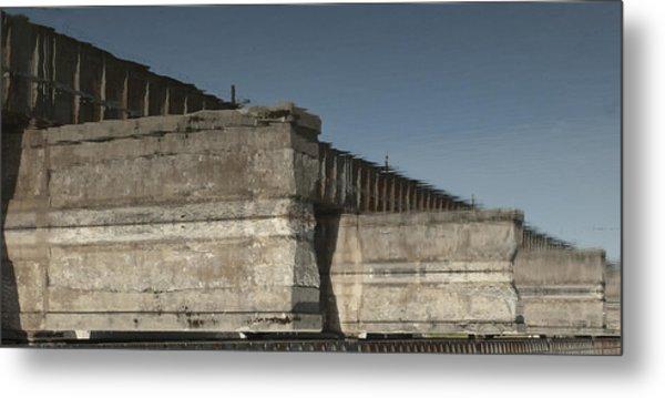 Dundas Railway Bridge Metal Print by Michael Rutland