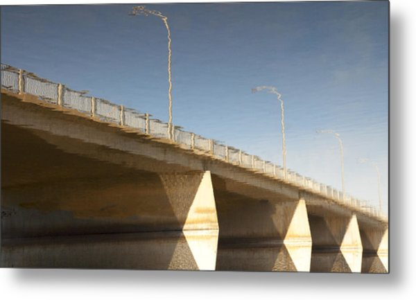 Dundas Street Bridge Metal Print by Michael Rutland