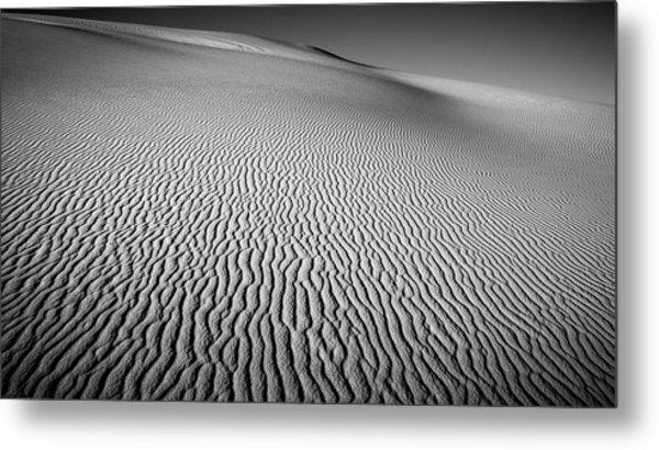 Dune Patterns Metal Print