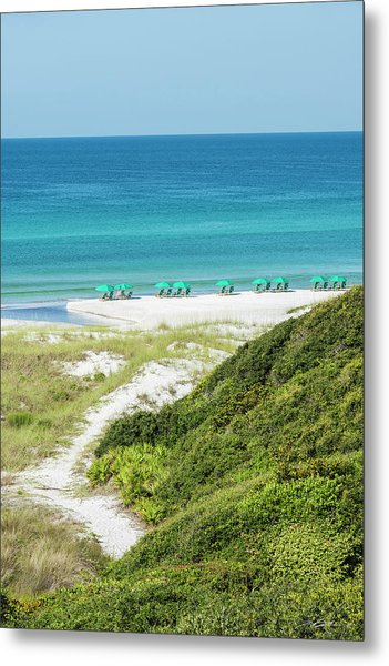 Dune Trail To The Gulf Metal Print