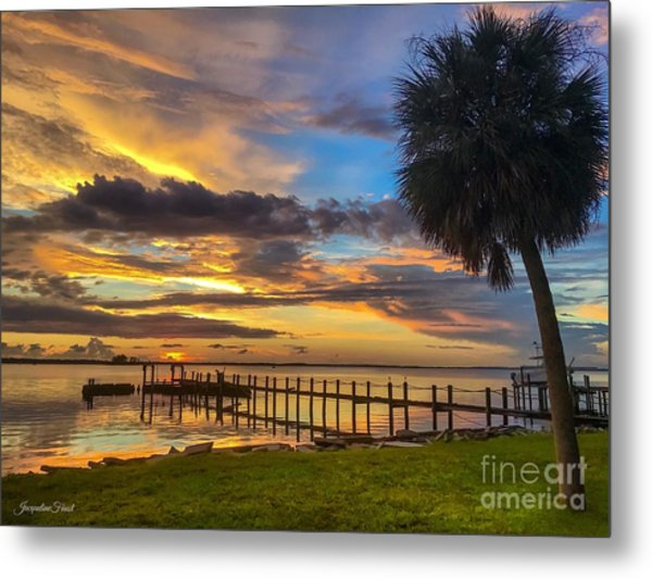 Dunedin Afterglow Metal Print