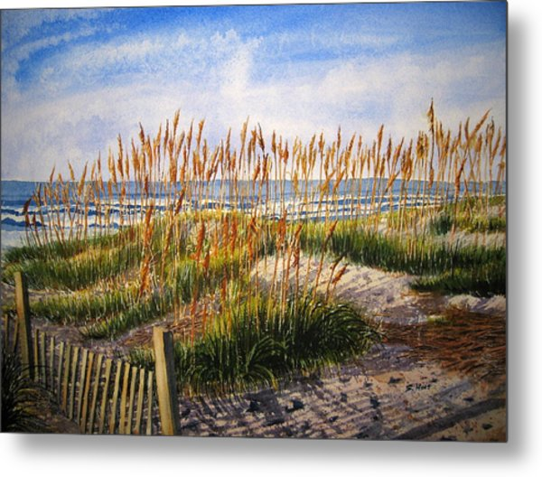 Dunes At Dawn Metal Print