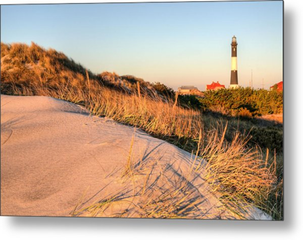 Dunes Of Fire Island Metal Print